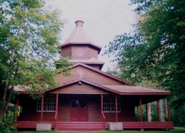 St. Volodymyr Chapel at Ukrainian Park Camp, MB